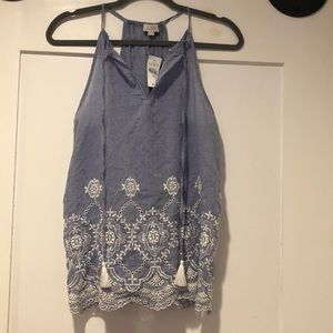 Embroidered LOFT Tank